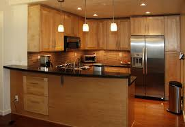 dark wood floors with dark shaker cabinets wood floors
