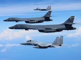 b 1b lancer bomber could be used to strike north korean missile