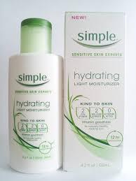 simple hydrating light moisturizer simple hydrating light moisturizer 4 2 ounce by simple beauty