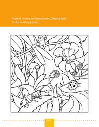preschool coloring pages bugs bugs in nature worksheet education com