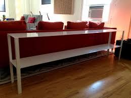 Couch Depth Bathroom Astonishing Mesmerizing Long Sofa Table Highest Clarity