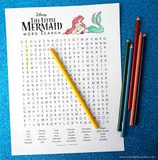 lego disney ariel magical spell free printable