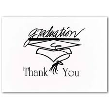 thank you cards for graduation black graduation stationery thank you cards 569