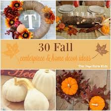 Fall Centerpieces 30 Fall Centerpieces And Home Decor Ideas Frugal Farm Wife