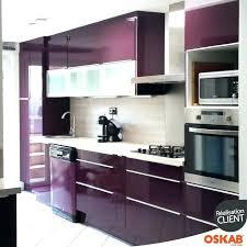 peinture pour meuble cuisine meuble cuisine aubergine meuble salle de bain ref dis9551sc