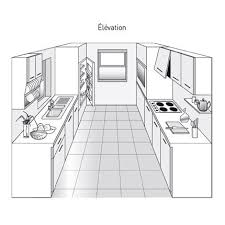 les diff駻ents types de cuisine plan de cuisine les différents types kitchens mini kitchen and