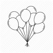 balloon birthday celebration decoration balloons lots of