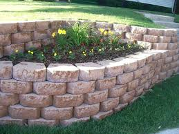 cool landscaping bricks home depot kimberly porch and garden