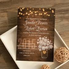 rustic wedding invitation rustic wedding invitations with free response cards part 2