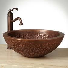 copper vessel sinks ebay 18 coram double wall copper vessel sink bathroom copper bowl