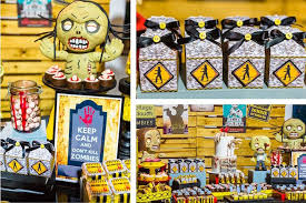 walking dead party supplies kara s party ideas walking dead themed birthday party