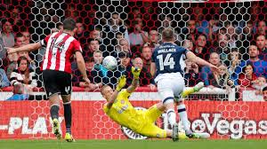 bentley penalty dan bentley u0027s penalty save news brentford fc