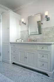 bathroom ideas with beadboard single sink vanity footed white single bathroom vanity