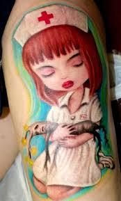 nurse tattoo by gido tattoonow