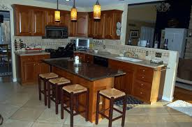 kitchen stunning l shape kitchen with island decoration using