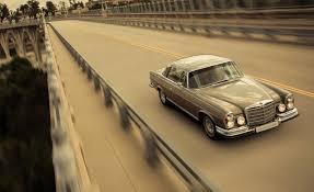 classic mercedes mechatronik mercedes benz m coupé 1970 280se 3 5 meets modern amg