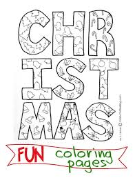 christmas coloring pages paint