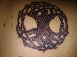celtic knot nice tree of life tree tattoo design idea golfian com