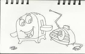 Brave Little Toaster Radio Drawing 150 Ashevildead66