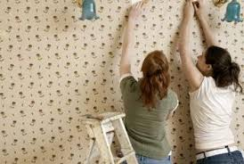 how to remove wallpaper glue residue home guides sf gate