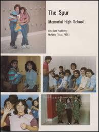 mcallen memorial high school yearbook explore 1983 memorial high school yearbook mcallen tx classmates