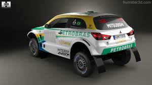mitsubishi asx 2014 360 view of mitsubishi asx dakar racing 2014 3d model hum3d store