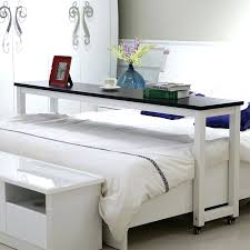 Bed Desks For Laptops Decorating Desk Malm Bed That Goes Ikea Movable Rolling