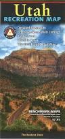 Utah Hunting Maps by Utah Recreation Map Benchmark Maps U0026 Atlases 9780783499192