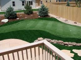 backyard putting greens dfw synthetic turf depot image with