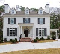 French Dormer Windows Outside Colors For Home Exterior Traditional With French Doors