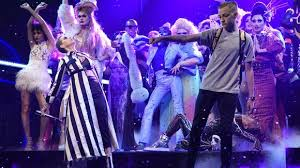 Bands Make Her Dance Meme - backpack kid who upstaged katy perry tells us what s in his snl bag