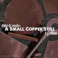 How To Make A Small by How To Make A Small Copper Still 1 Gallon U2013 Copper Moonshine