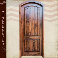 Solid Interior Door Custom Eyebrow Arched Solid Wood Interior Door