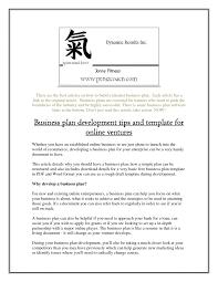 it business plan template images templates design ideas