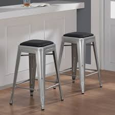 attractive metal counter stools modus metal 26 inch high counter