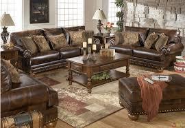 brown living room set ashley furniture leather living room sets ideas advantage using
