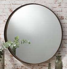 Bronze Bathroom Mirrors by Very Large Round Mirror Mirror Ideas