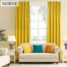 Blackout Curtains Windows 2018 Norne Modern Solid Color Matte Velvet Blackout Curtain