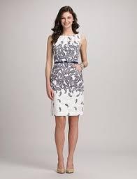 misses dresses jones studio dotted belted dress dressbarn