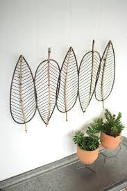 Koehler Home Decor Metal Leaves Wall Art Shenra Com