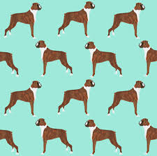 Boxer Dog Dogs Boxer Cute Dog Pet Dogs Boxer Fabric For - Home decor textiles