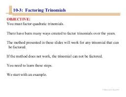 factoring trinomials worksheets free worksheets library download