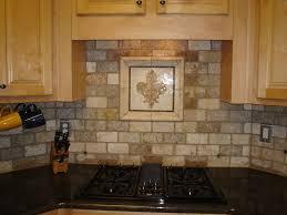 interior cool faux cobblestone veneer backsplash white cabinets