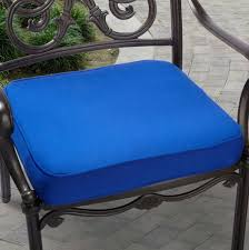 Blue Outdoor Cushions Patio Furniture With Blue Cushions Roselawnlutheran