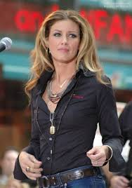rolling hair styles faith hill hairstyle with long rolling curls that fall over the