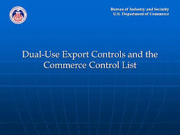 bureau commerce bureau of industry and security u s department of commerce dual use