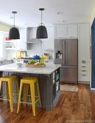 kitchen renovation reveal resources jenna burger kitchen makeover reveal before and after kitchen renovation with white gray cabinets open
