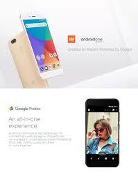 xiaomi mi a1 5 5 inch 4gb 64gb smartphone gold