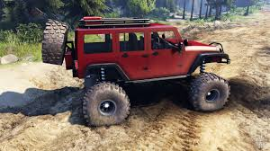 jeep wrangler red wrangler unlimited sid red for spin tires