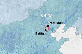 Map Great Wall Of China by The Great Wall Of China Tour Peregrine Adventures